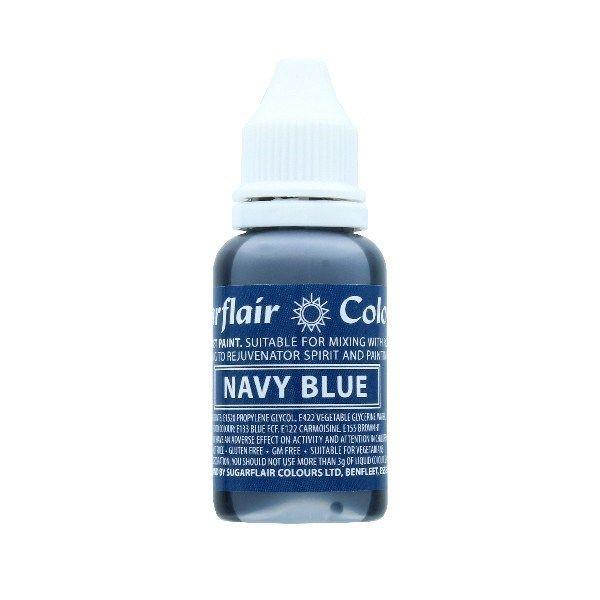 Sugarflair Sugartint Droplet Colour - Navy - 14ml. 9877