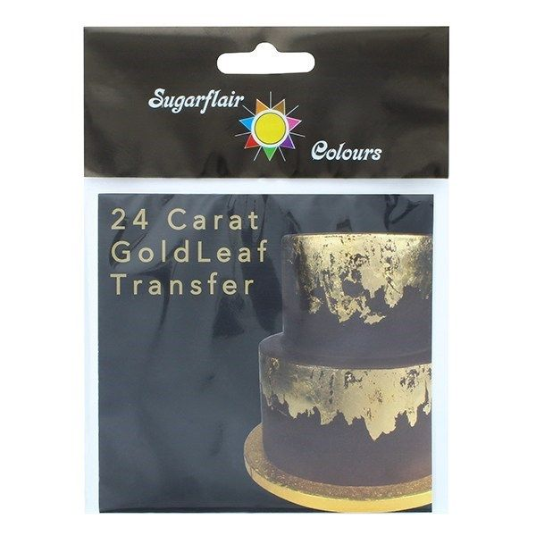 Sugarflair Gold Leaf Sheet. 5498
