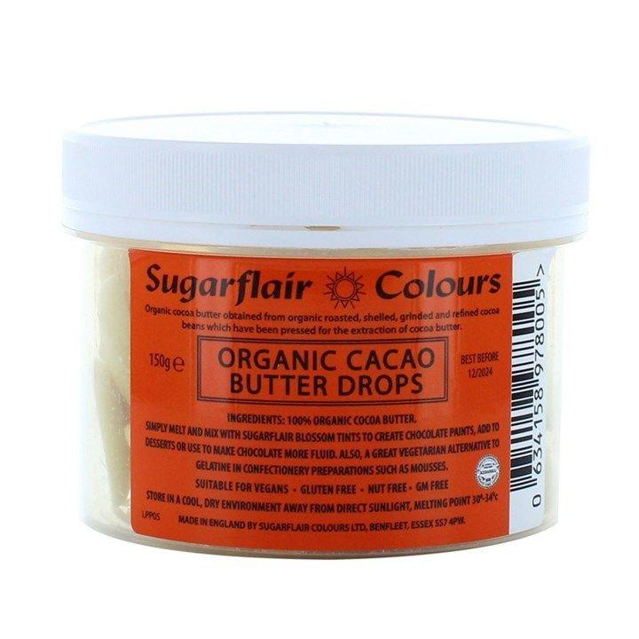 Sugarflair Cacao Chocolate Drops. 825006