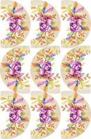 Cupcake Edible ImageArt: Water Colours