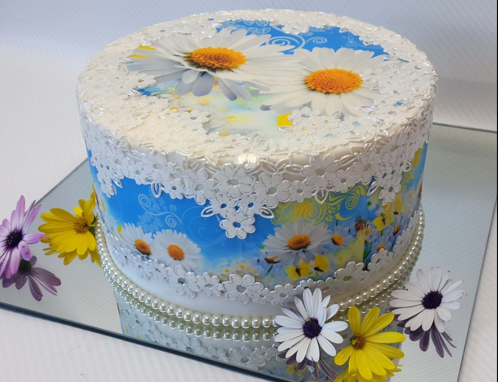 Edible ImageArt: DaisyBlue Wrap