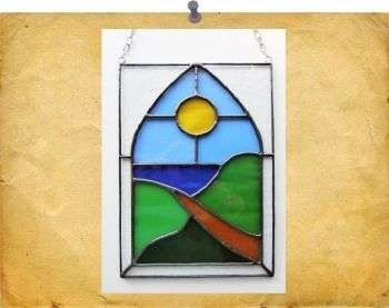 arched window scene
