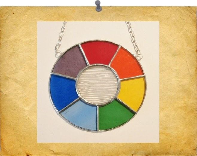 mini rainbow circle