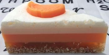 Chocolate Orange Layered Bakery Soap Cake 12 slices
