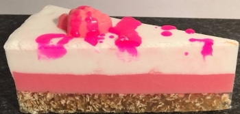 Raspberry Layered Bakery Soap Cake 12 slices
