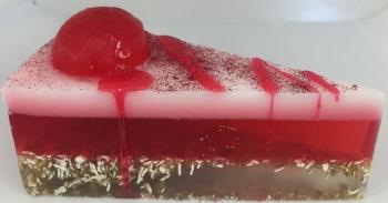 Cherry Layered Bakery Soap Cake 12 slices