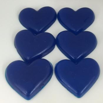 12 x 6 Bubblegum Scented Mini Heart Soaps