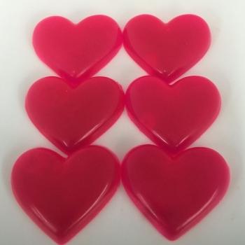 12 x 6 Cherry Scented Mini Soap Hearts