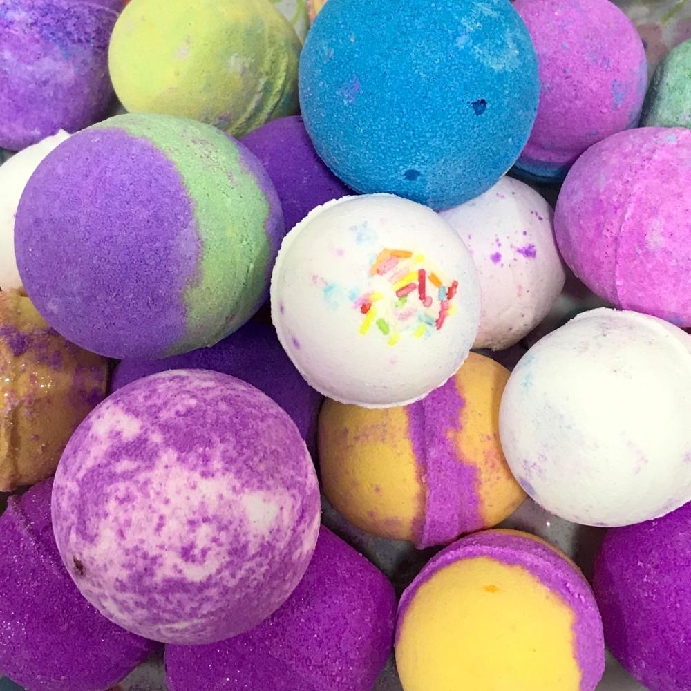 500g Mini Ball Bath Bombs mixed size and fragrance