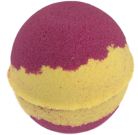 6 x Rhubarb and Custard Scented Bath Bombs