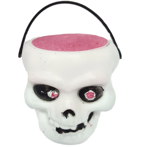 6 x Scary Skull Halloween Bath Bomb