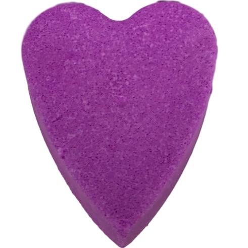 6 x Valentine Mega Blaster Heart Bath Bombs NON GLITTER