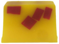 Rhubarb and Custard Scented Soap Loaf - 14 slices SLS Free