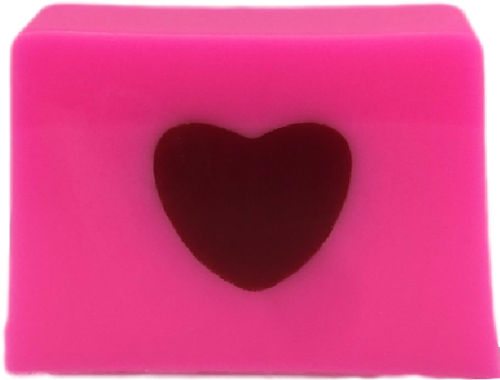 love heart soap
