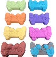6 x Games Controller Bath Bombs  recommended  collection from cash and carry
