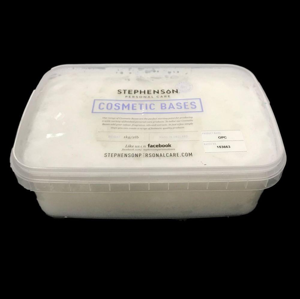 Foaming Bath Butter Base by Stephensons OPC 1 kilo