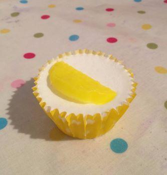 Lemon Scented Soap Cupcake x6