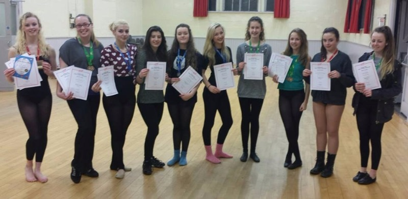 exam results 2015 cornwall dance school