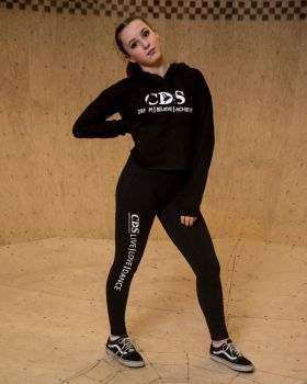 Cornwall Dance School Crop Hoody.