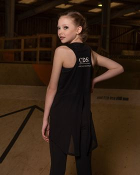 Cornwall Dance School Lyrical Split Back Top.