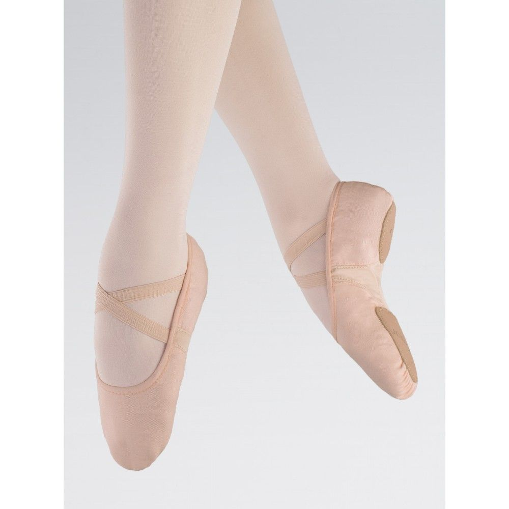 First Position Canvas Flex Split Sole Ballet Shoe