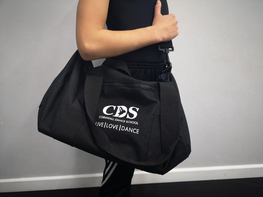 CDS Barrel Bag in Black