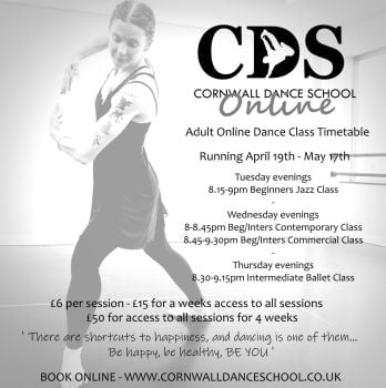 Book one weeks access to all of our Adult Dance Sessions