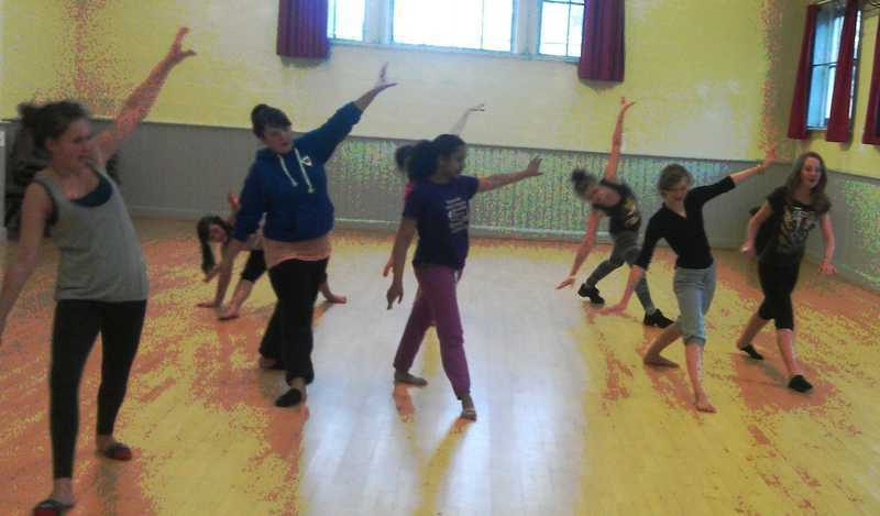 Contemporary Ballet Class Cornwall Dance and Drama Newquay Truro
