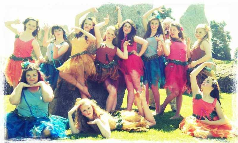 Made in Cornwall Filming Dance Project in Cornwall Ed Prynn Stone Circle Da