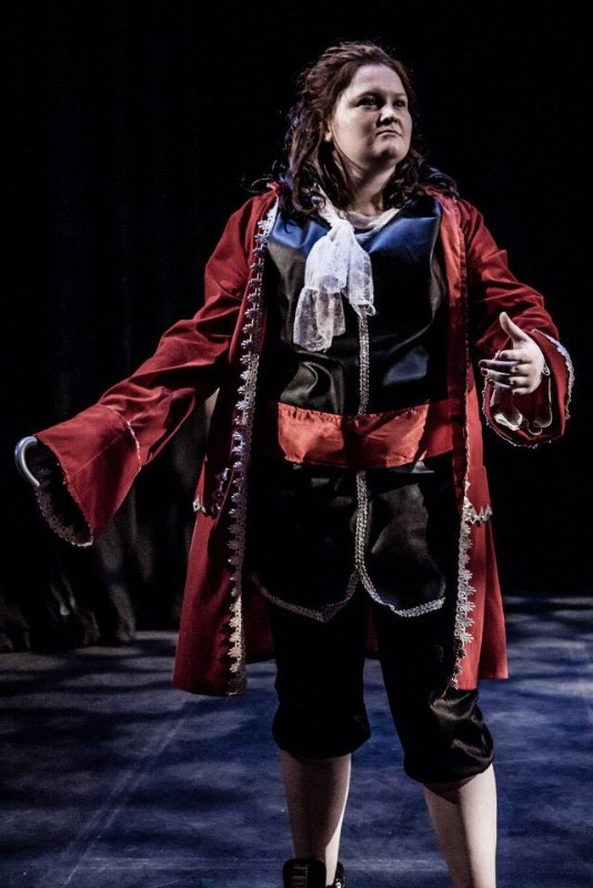 captain hook at cornwall dance school sophie stevens dance family leader