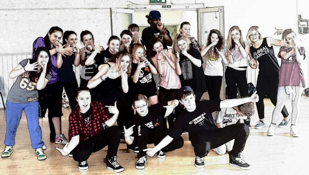 tashan muir from unity uk streetdance workshop truro
