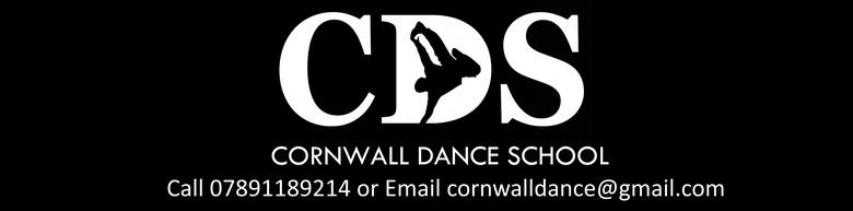 Cornwall Dance School, site logo.