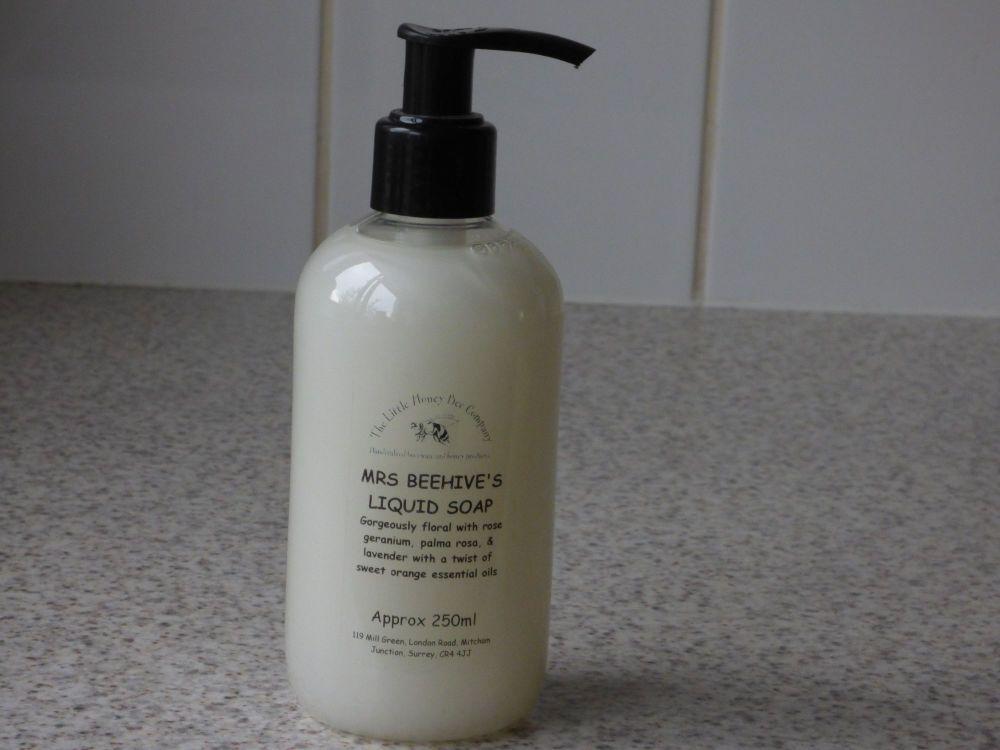 Mrs Beehive's Liquid Soap
