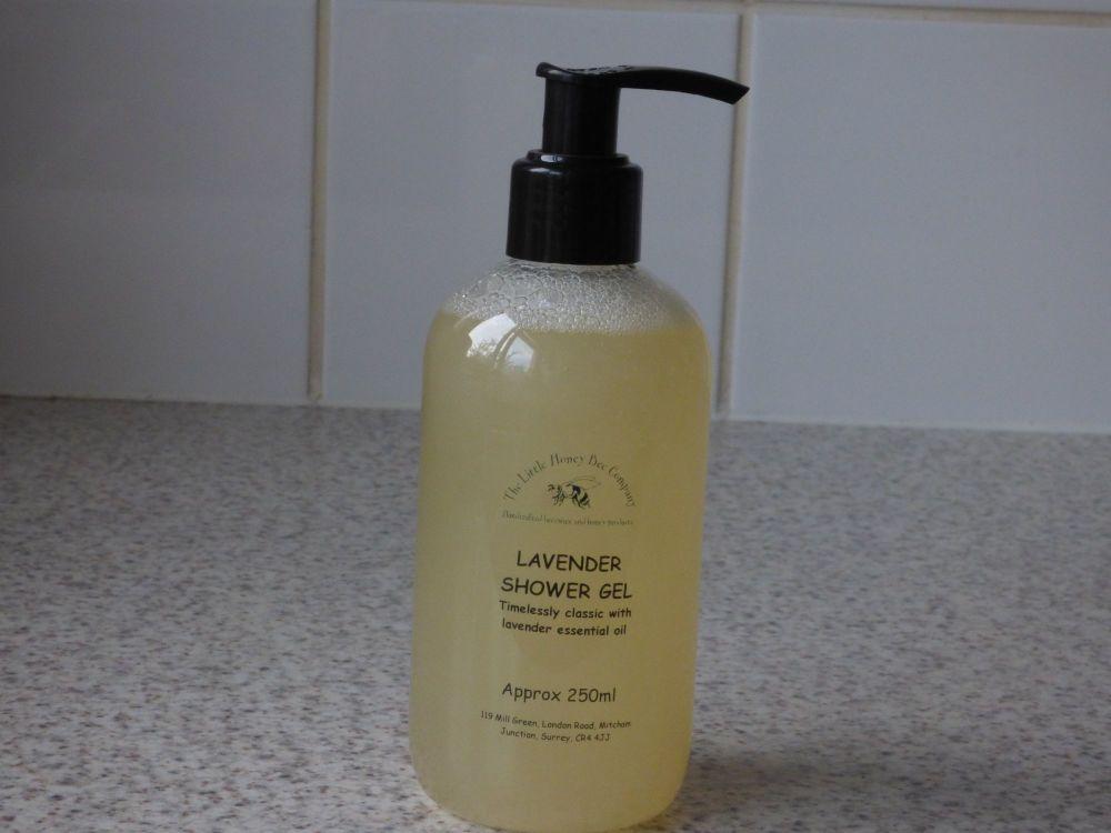 Lavender & Honey Shower Gel