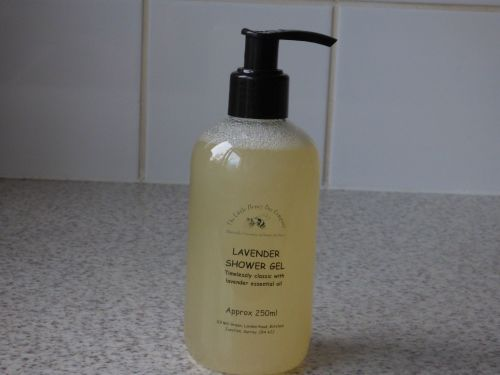 Lavender & Honey Shower Gel