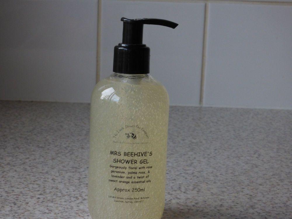 Mrs Beehive's Honey Shower Gel