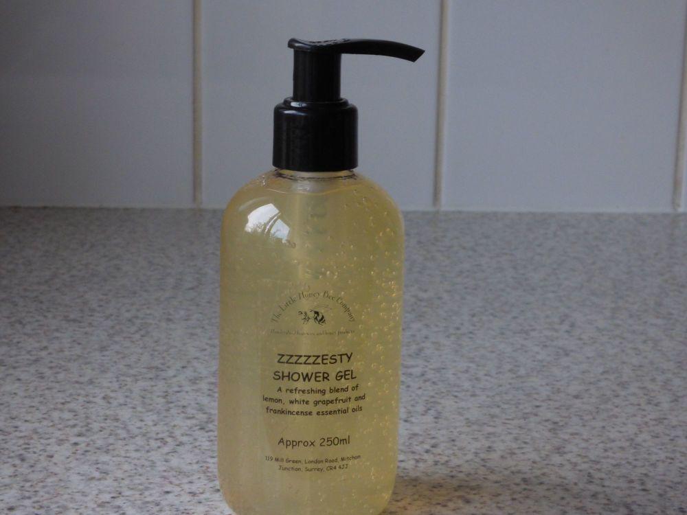 Zzzzesty Honey Shower Gel