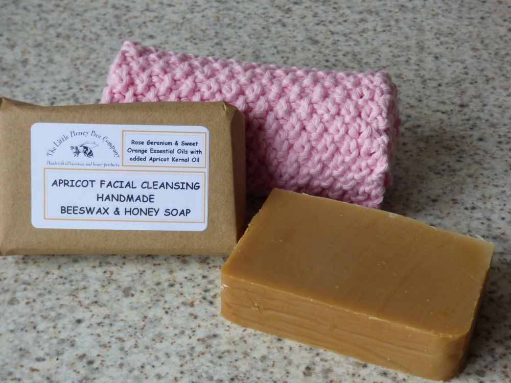 Apricot Facial Cleansing Bar