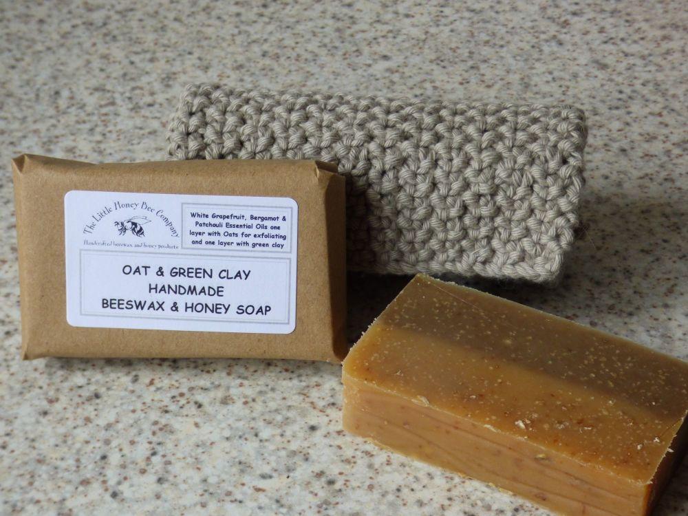 Honey & Oat Exfoliating Bar