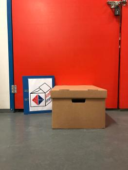 Archive Cardboard Storage Box
