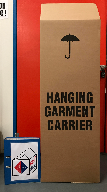 Garment Cardboard Storage Box