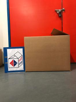 Large Cardboard Storage Box