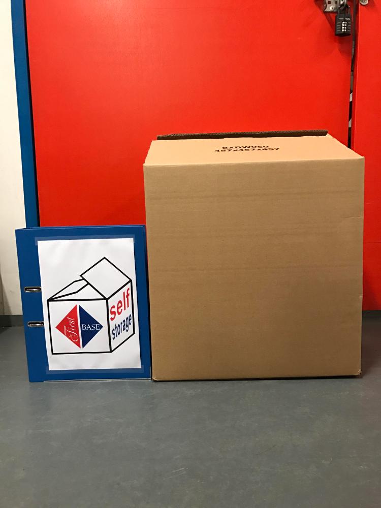 Medium Cardboard Storage Box
