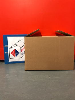 Small Cardboard Storage Box