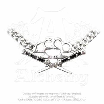 Switchblade Choker by Alchemy Gothic
