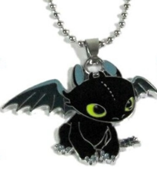 How To Train Your Dragon Toothless Pendant