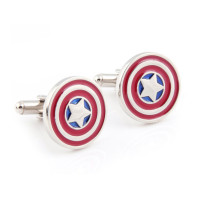 Captain America Shield Marvel Cufflinks