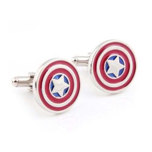 Captain America Shield Marvel Cufflinks