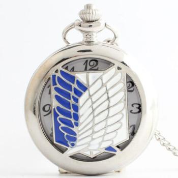 Attack On Titan Pendant Pocket Watch
