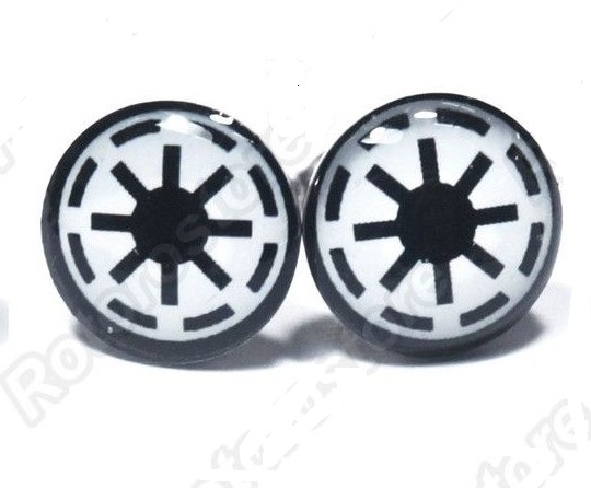 Imperial Star Wars Earring Studs